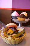 Burgerscupcakes